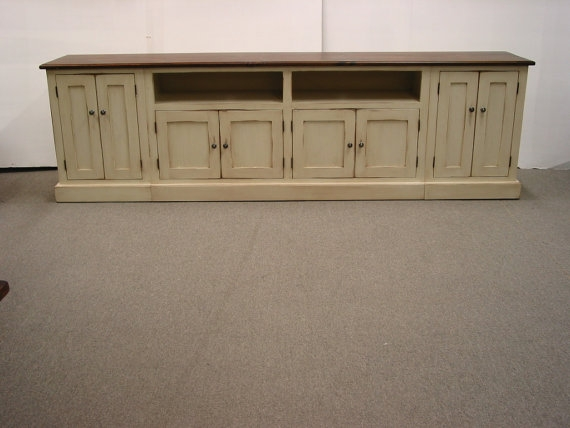 Fantastic Deluxe Long TV Stands Furniture Within Tv Stand Long Tv Console  Wood Tv Stand Media
