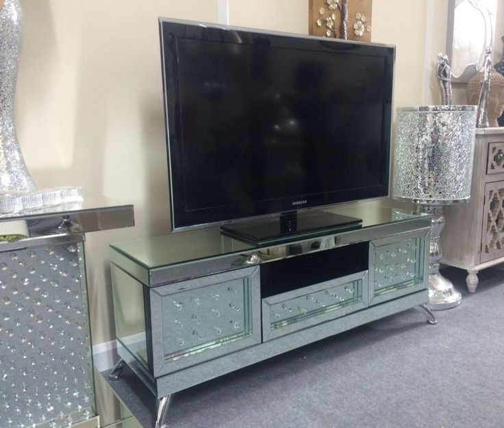 Fantastic Deluxe Mirrored TV Cabinets Furniture Within 58 Best Mirrored Furniture Images On Pinterest Mirrored (Image 25 of 50)