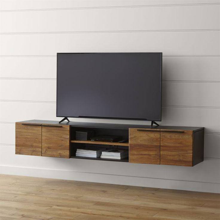 Fantastic Deluxe Rectangular TV Stands Regarding Best 25 Floating Tv Stand Ideas On Pinterest Tv Wall Shelves (Image 18 of 50)