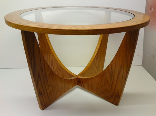 Fantastic Deluxe Retro Glass Coffee Tables Inside Retro Table (Image 20 of 50)