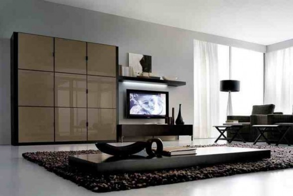 Fantastic Deluxe Stylish TV Cabinets Throughout Modern Minimalistic Design Living Room With Cabinets Tv Stand And (Image 21 of 50)