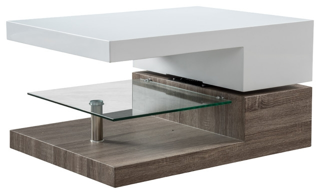Fantastic Deluxe Swivel Coffee Tables Intended For Emerson Mod Swivel Coffee Table Modern Coffee Tables (View 15 of 50)