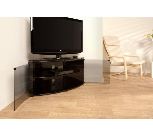 Fantastic Deluxe Techlink Bench Corner TV Stands With Regard To Buy Techlink Bench B6b Corner Plus Tv Stand Free Delivery Currys (Image 13 of 50)