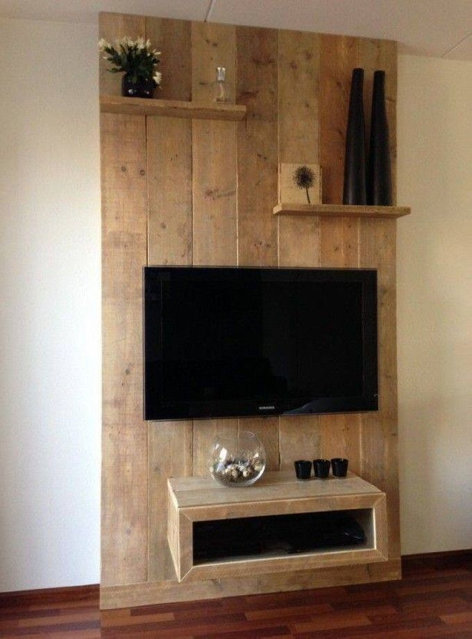 Fantastic Deluxe Wall Mounted TV Stands With Shelves Intended For Tv Stands Best Solid Wooden Flat Panel Tv Stands Walmart Flat (Image 24 of 50)