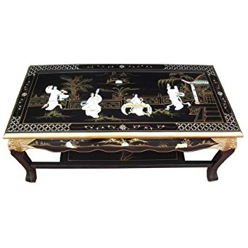 Fantastic Elite Chinese Coffee Tables In Chinese Furniture Handcarved Oriental Scroll Coffee Table With (View 8 of 50)