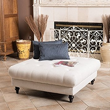 Fantastic Elite Footstool Coffee Tables Inside Amazon Parisian Fabric Ottoman Footstool Coffee Table (Image 15 of 40)