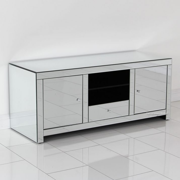 Fantastic Elite Mirrored TV Cabinets Within Amazing Mirrored Tv Cabinet Uk 147 Mirrored Tv Cabinet Uk Sassari (View 20 of 50)