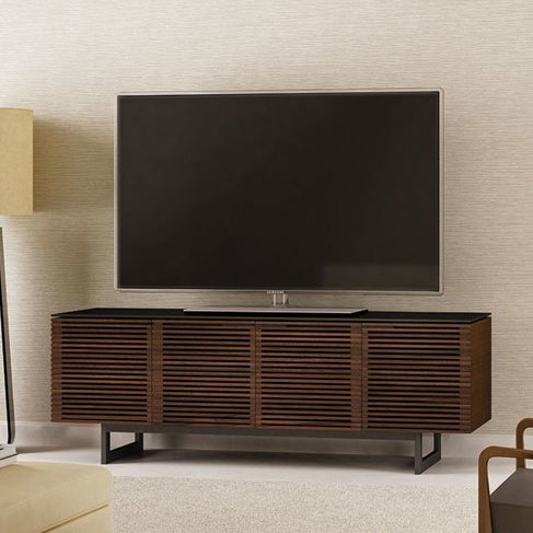 Fantastic Elite Modern TV Stands For 60 Inch TVs Throughout Modern Metal Tv Stands Entertainment Centers Allmodern (Image 16 of 50)