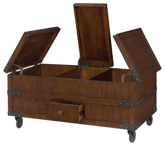 Fantastic Elite Storage Trunk Coffee Tables Intended For Best Storage Trunk Coffee Table (View 5 of 50)