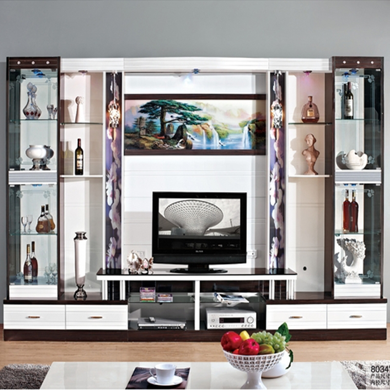 Fantastic Elite Wall Display Units & TV Cabinets Intended For Wine Cooler Modern Brief Fashion Glass Cabinet Office Display (View 5 of 50)