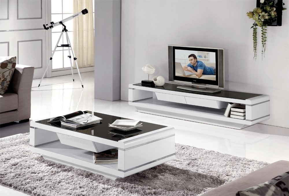 Fantastic Elite White Modern TV Stands Intended For White Modern Tv Stands For Flat Screens Color Charm And Modern (Image 17 of 50)