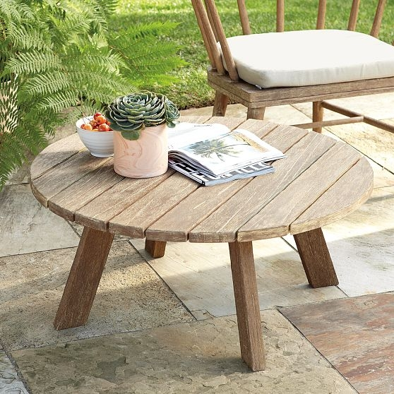 Fantastic Elite Wooden Garden Coffee Tables Inside Small Wooden Garden Coffee Table Coffee Addicts (View 15 of 50)