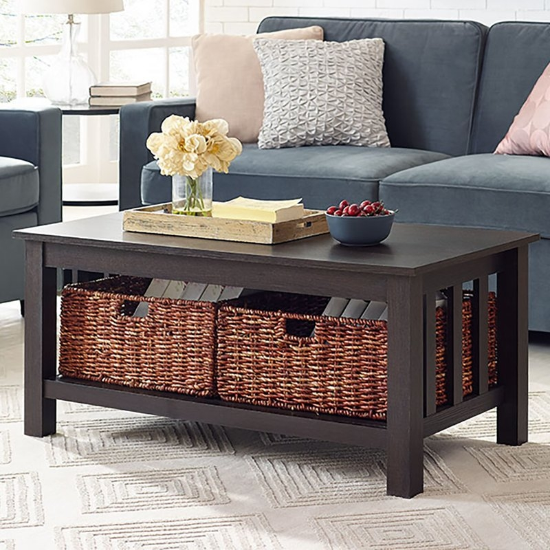 Fantastic Elite Wooden Storage Coffee Tables With Regard To Alcott Hill Stillman Wood Storage Coffee Table Reviews Wayfair (View 25 of 50)