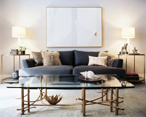 Fantastic Famous Antique Brass Glass Coffee Tables In Brass Glass Coffee Table Design Ideas (Image 13 of 50)