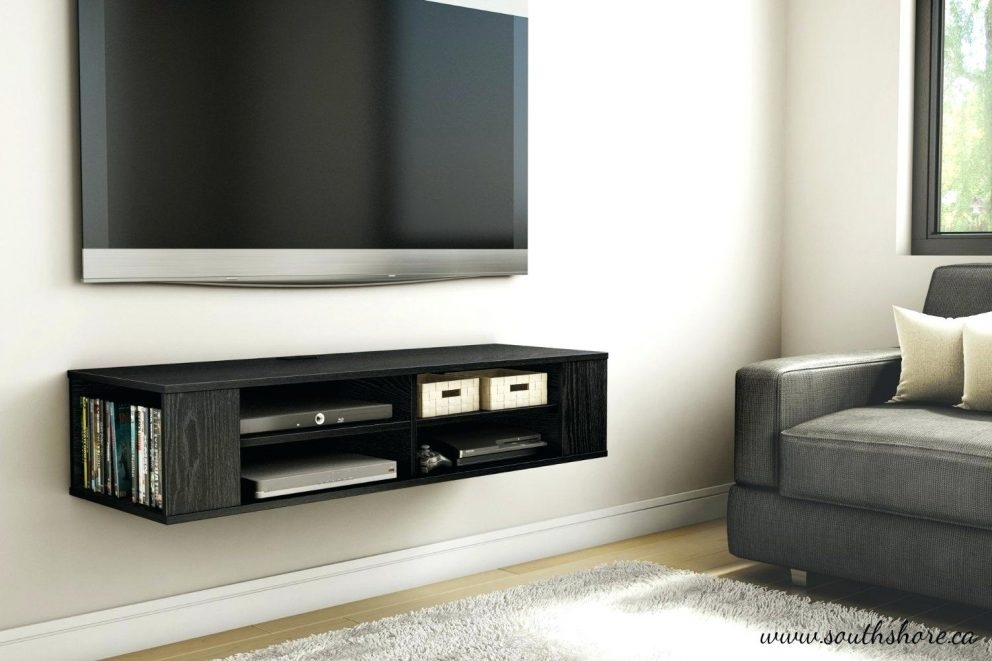 Fantastic Famous Dwell TV Stands With Floating Tv Shelf Unit Appalachianstorm (Image 18 of 50)