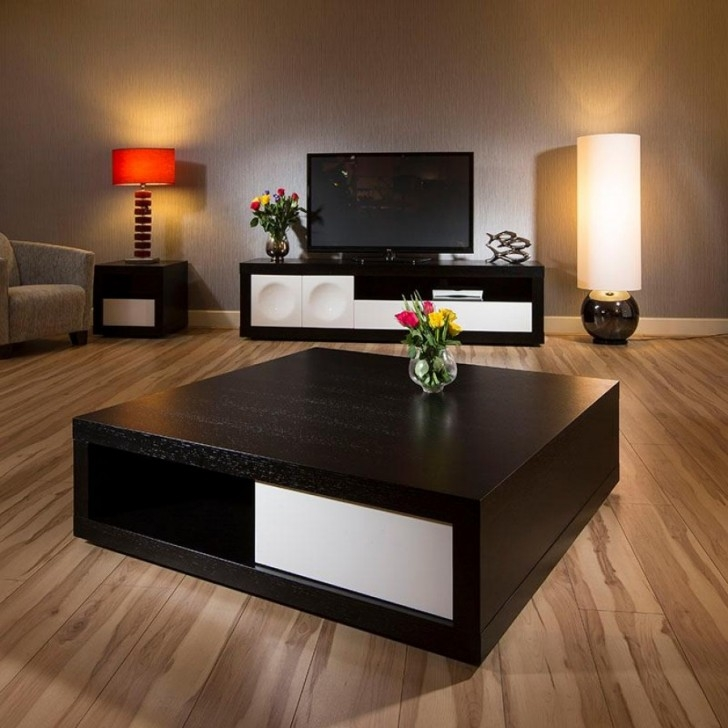 Fantastic Famous Extra Large Low Coffee Tables With Regard To Furniture Extra Large Square Coffee Table For Fine Leisure Time (Image 24 of 50)