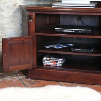 Fantastic Famous Mahogany Corner TV Cabinets In Abdabs Furniture La Roque Mahogany Corner Tv Cabinet (View 37 of 50)