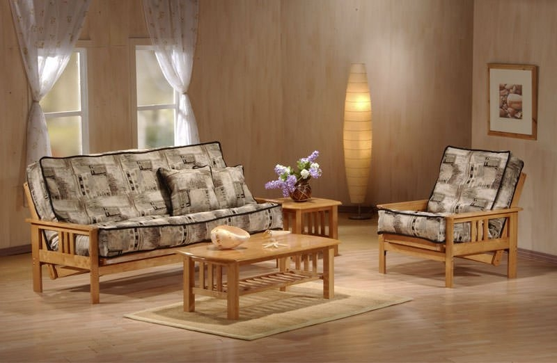 Fantastic Famous Monterey Coffee Tables With Regard To Monterey Full Size Rosewood Futon Set Jm Furniture (Image 17 of 50)