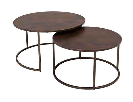 Fantastic Famous Nest Coffee Tables Intended For Desmond Round Coffee Table Weirs Furniture (Image 14 of 50)