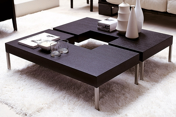 Fantastic Famous Puzzle Coffee Tables For Porada Puzzle 2 Puzzle 2 Coffee Table (Image 14 of 40)