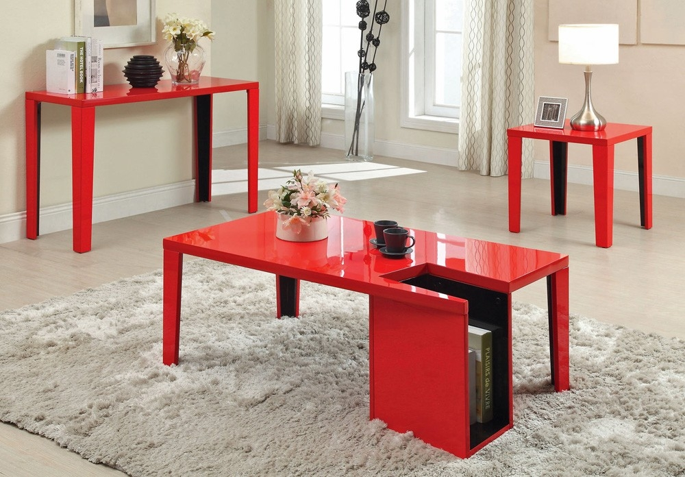 Fantastic Famous Red Gloss Coffee Tables In Modern Red Coffee Table Coffee Tables Table And Estate (Image 12 of 40)