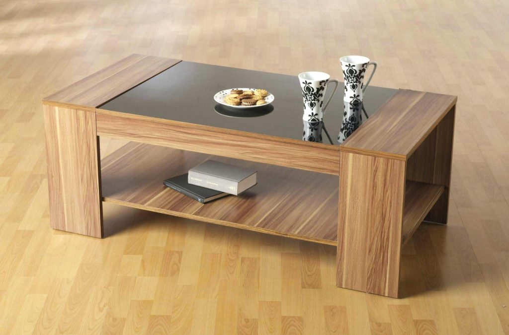 Fantastic Famous Solid Oak Coffee Table With Storage Pertaining To Coffee Table Coffee Tablewood With Glass Top Table Eton Solid (Image 14 of 50)
