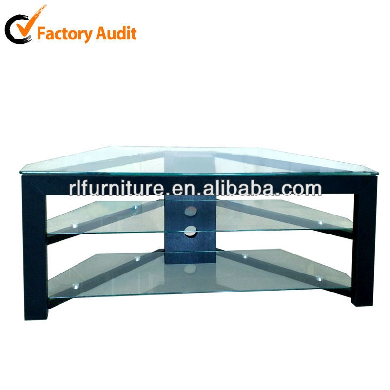 Fantastic Famous Triangle TV Stands For Triangle Shape Tempered Tv Stand Design Rm014 Buy Tv Stand (View 7 of 50)