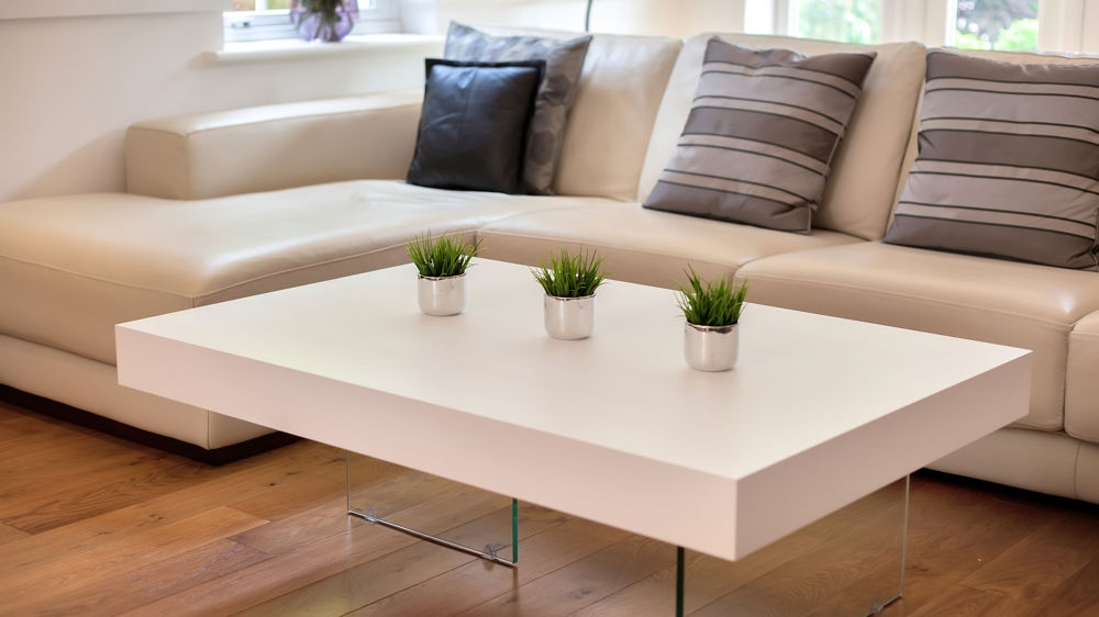 Fantastic Famous White And Oak Coffee Tables Intended For White Coffee Table (Image 19 of 50)