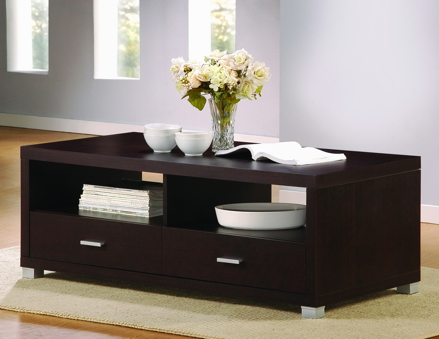 Fantastic Fashionable Dark Brown Coffee Tables For Brown Coffee Table (View 50 of 50)