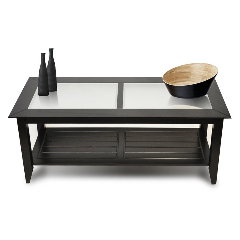 Fantastic Fashionable Glass And Black Coffee Tables Within Stylish Ikea Glass Top Coffee Table (Image 16 of 50)