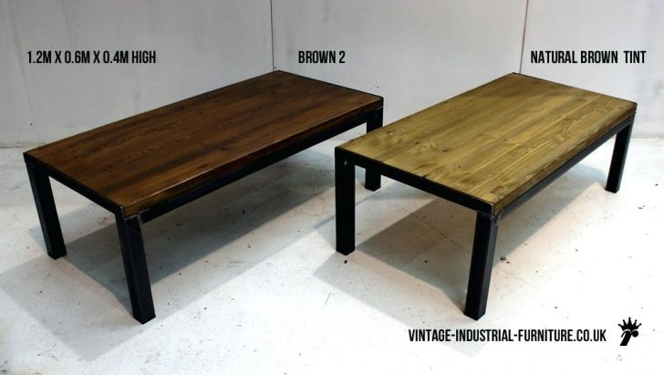 Fantastic Fashionable Industrial Style Coffee Tables Inside Coffee Table Coffee Table Vintage Industrial Styleindustrial (Image 21 of 50)