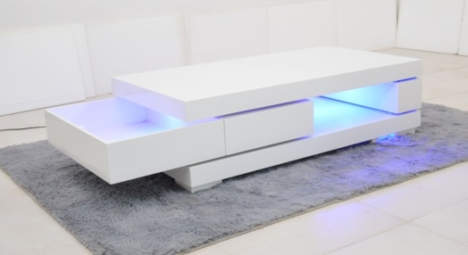 Fantastic Fashionable Led Coffee Tables Throughout Coffee Table Video Table Led Coffee Table Led Coffee Table Kit (Image 20 of 50)