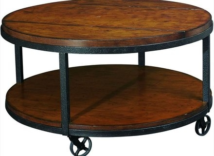 Fantastic Fashionable Metal Round Coffee Tables With Regard To Round Metal And Glass Coffee Tables Jerichomafjarproject (View 40 of 50)