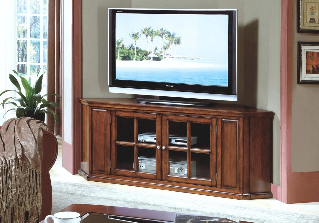 Fantastic Fashionable Oak Effect Corner TV Stands In Oak Effect Corner Tv Stand (Image 16 of 50)