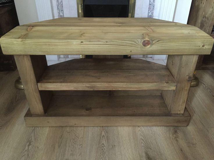Fantastic Fashionable Real Wood Corner TV Stands Intended For 102 Best Home Images On Pinterest Aperture Basket And Corner Tv (View 32 of 50)