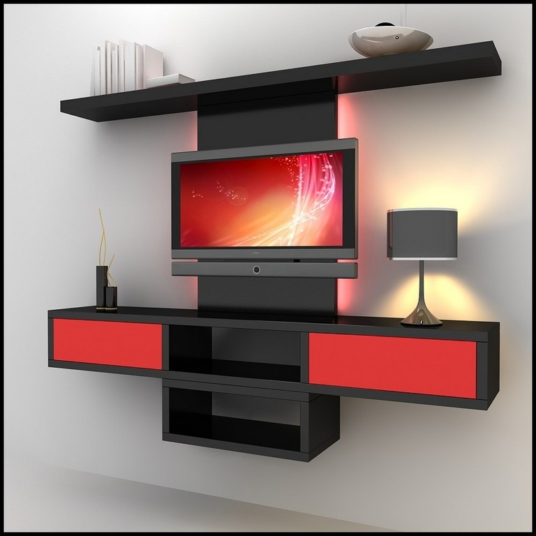 Fantastic Fashionable Red TV Cabinets Pertaining To Red Ikea Tv Stand (Image 22 of 50)