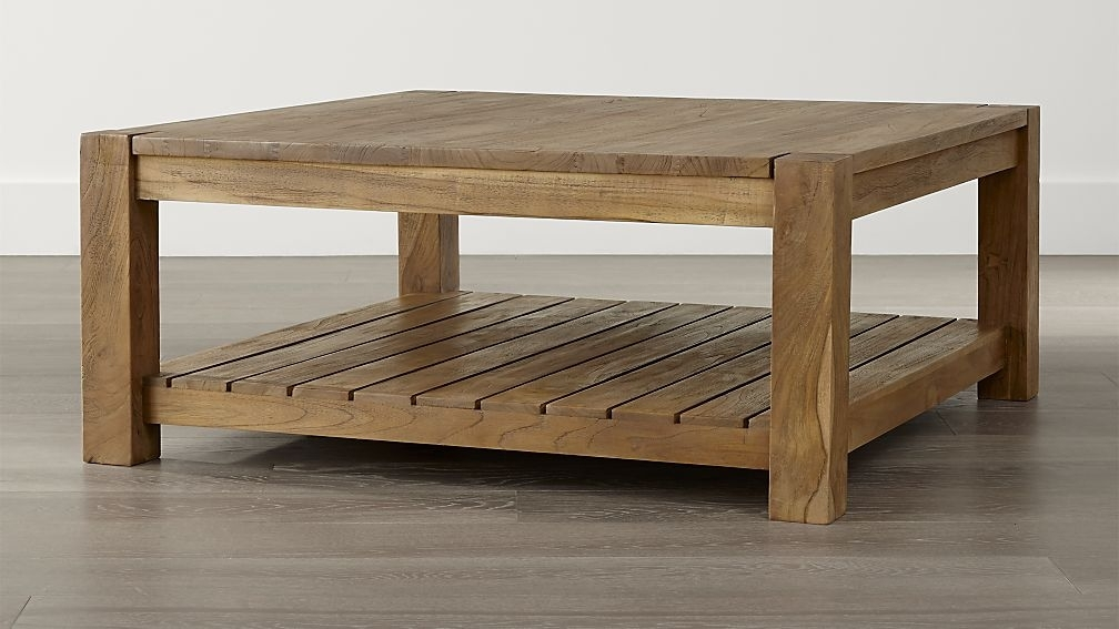 Fantastic Fashionable Square Coffee Tables With Storage With Incredible Square Coffee Tables As Well As Solid Wood Square (Image 21 of 50)