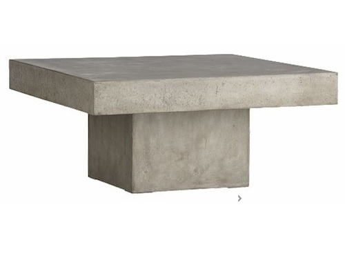 Fantastic Fashionable Square Stone Coffee Tables Intended For Ideas For Stone Coffee Table Modern Home Interiors (Image 14 of 40)
