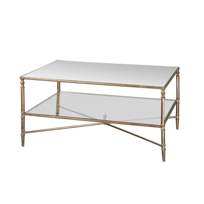 Fantastic Fashionable Steel And Glass Coffee Tables With Regard To Coffee Table Exciting Metal And Glass Coffee Table In Your Living (Image 16 of 50)