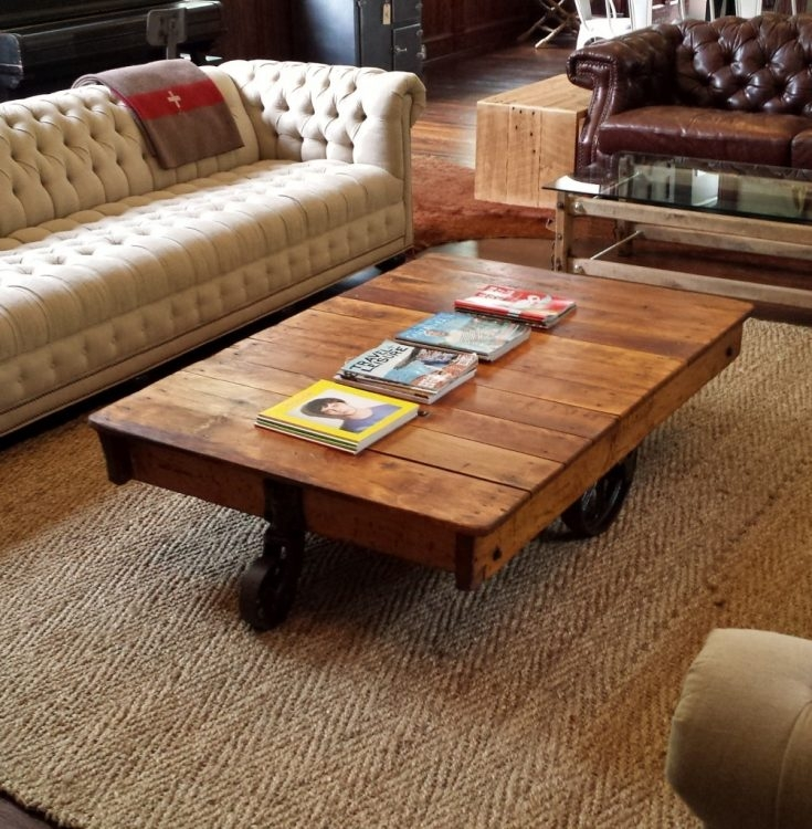 Fantastic Fashionable Very Large Coffee Tables Throughout Restoration Hardware Coffee Tables Modern Coffee Tables 60 Inch (View 33 of 50)