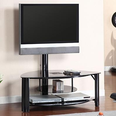Fantastic Fashionable Wood TV Stands With Glass Top With Home Furniture Tv Stands Media Storage (Image 16 of 50)