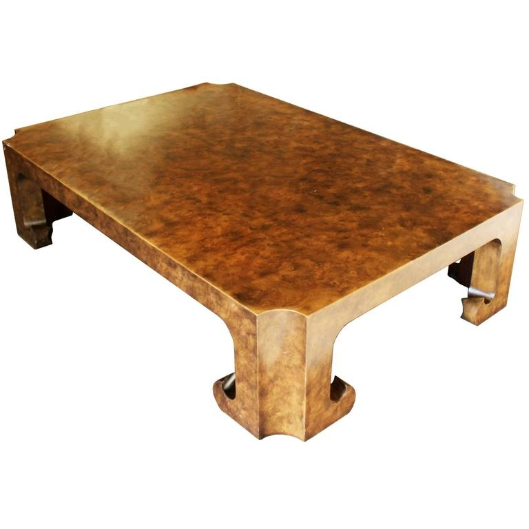 Fantastic Favorite Asian Coffee Tables For Baker Burl Wood Asian Coffee Table Collectors Edition For Sale At (View 17 of 40)