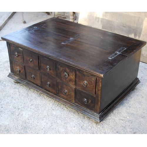 Fantastic Favorite Dark Wood Coffee Table Storages Intended For Dark Wood Chest Coffee Table Idi Design (Image 17 of 50)