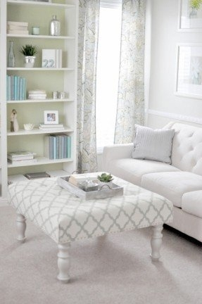 Fantastic Favorite Fabric Coffee Tables Pertaining To Fabric Coffee Table Foter (View 32 of 50)