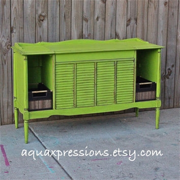 Fantastic Favorite Green TV Stands For Best Distressed Tv Stand Products On Wanelo (Image 18 of 50)