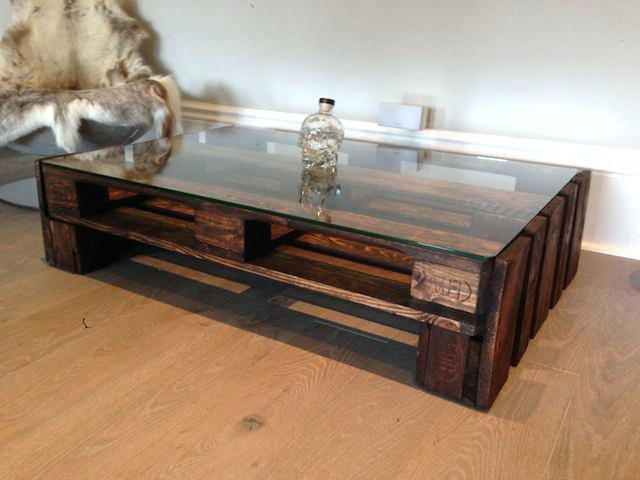 Fantastic Favorite Large Glass Coffee Tables Intended For Coffee Table Coffee Tablelarge Glass Top Upcycled Wooden Table (Image 16 of 50)