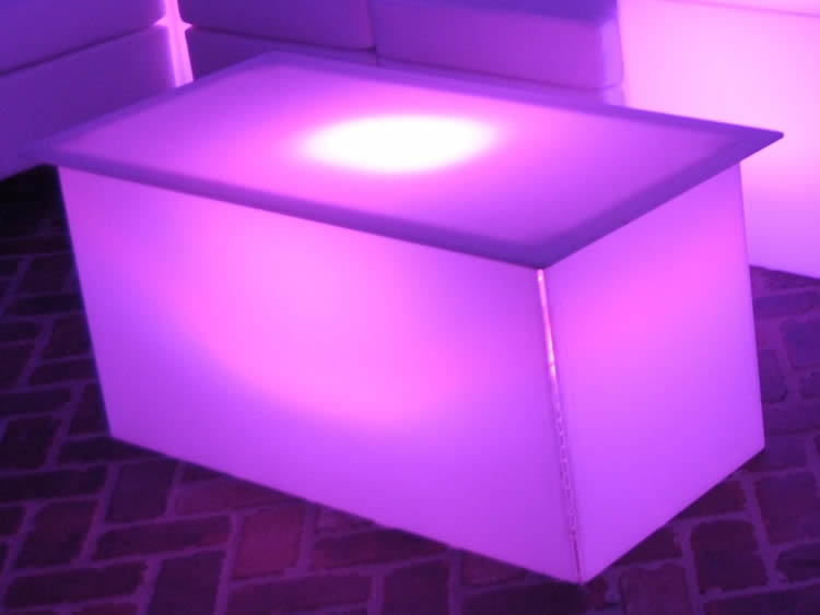 Fantastic Favorite Led Coffee Tables Intended For Led Coffee Table Lounge Furniture Rentals Nj And Ny (Image 21 of 50)