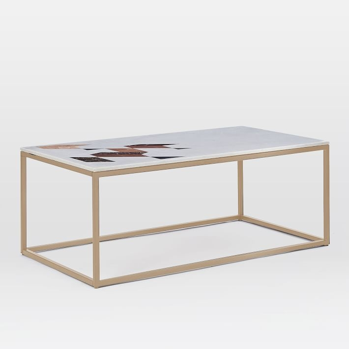 Fantastic Favorite Marble Coffee Tables Throughout Indian Marble Coffee Table West Elm (View 5 of 50)
