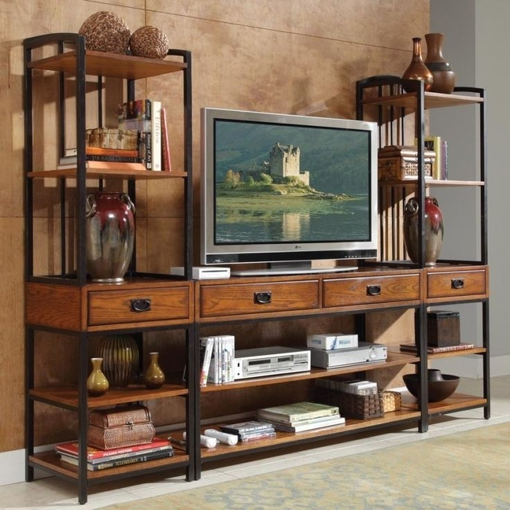 Fantastic Favorite Metal And Wood TV Stands Within Best 25 Metal Tv Stand Ideas On Pinterest Industrial Tv Stand (Image 12 of 50)