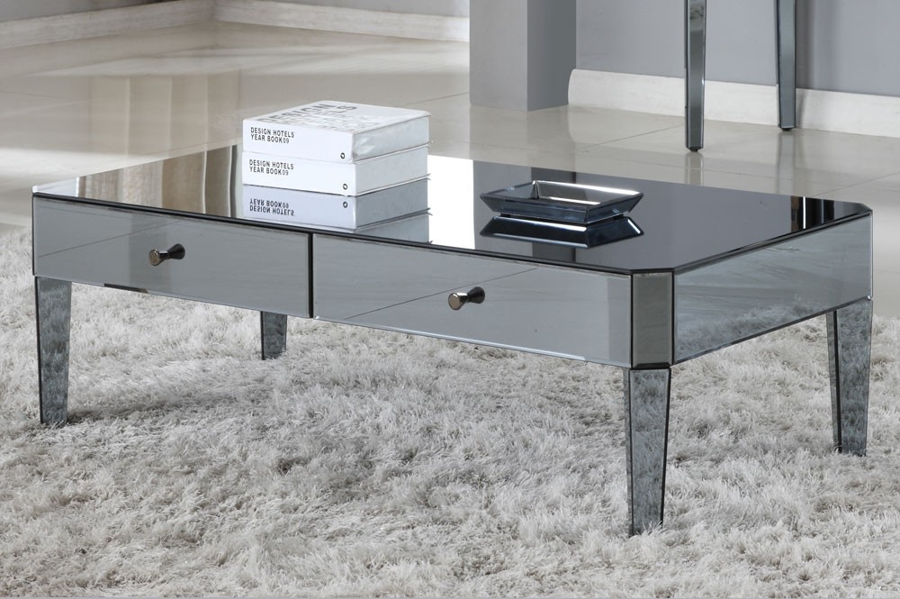 Fantastic Favorite Mirrored Coffee Tables For Wartun Mirrored Coffee Table (View 40 of 50)